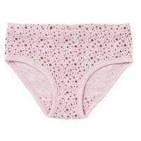 Mädchen Slip rosa gemustert Bio