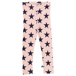 Super weiche Star Leggings rosa