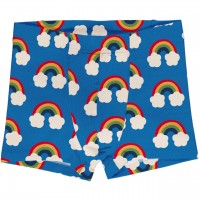 Boxershorts Regenbogen in blau
