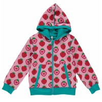Mädchen Jacke für Drinnen und Draussen Erdbeere