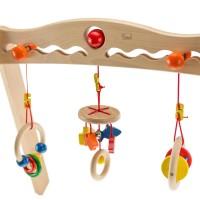 Vorschau: Baby Spielbogen incl. 3 verstellbaren Greiflingen