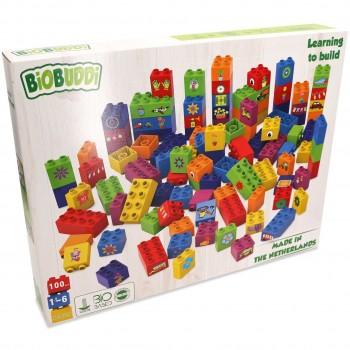 """Build"" Bauset 100 Bio Bausteine"