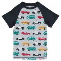 Slim Fit Shirt kurzarm Autos
