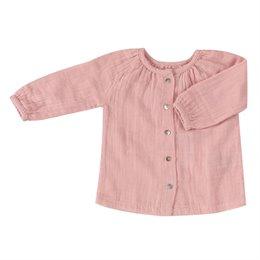 Leichtes Langarm Hemd rosa