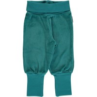 Warme Nicki Babyhose soft petrol