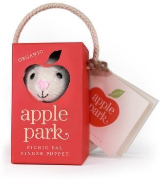 Organic picnic pal Fingerpuppe Lamby