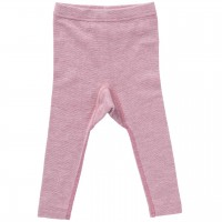 Wolle Seide Leggings rosa