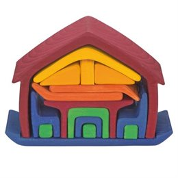 """""""Möbelhaus to go"""" – kleines Puppenhaus für großen Spielspaß"""
