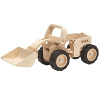 Bulldozer Holzfahrzeug 40 cm Special Edition