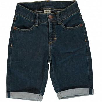 Elastische Jeans Shorts knielang guter Leibsitz