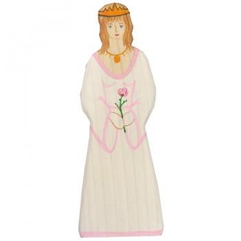 Prinzessin aus Holz z.B. für die Ritterburg