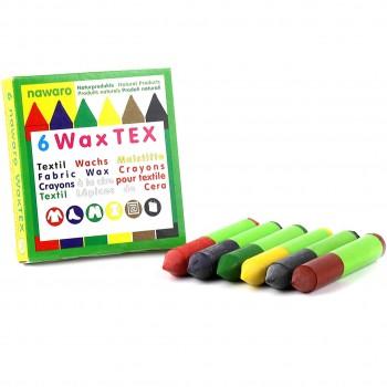 Textil Wachsmaler: WAX Tex Nawaro in 6 Farben
