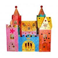 Vorschau: Schloss zum Stecken, malen & spielen 2 Figuren