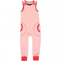 Warmer Strampler mit Taschen Nicki in rosa