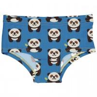 Kinder Hipster Panda in blau