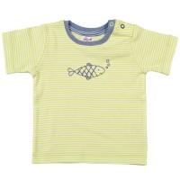 Baby Bio T-Shirt grün Fische