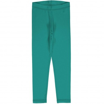 Sweat Leggings uni in leuchtendem petrol