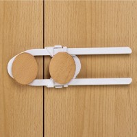 Vorschau: Bügel- & Schrankschloss weiß 21 cm