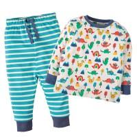 Dino Schlafanzug mit Bündchen