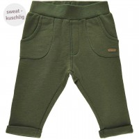 Babyhose Sweat in olive