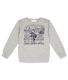 Bio Pullover Sweatshirt für Jungen mit Bündchen