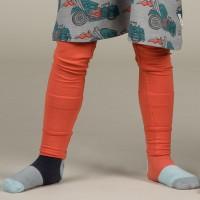 Bündchen Leggings in kräftigem orange