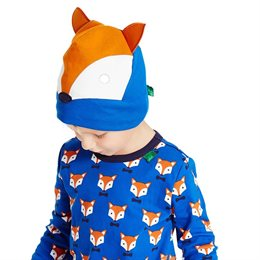 Fuchs Mütze Beanie auch für Fahrradhelm