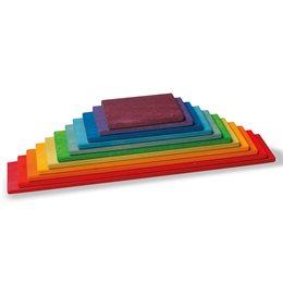Grimms Bauplatten Set regenbogen