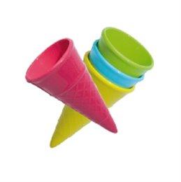 Sandspielzeug Eistüte 4 Stück