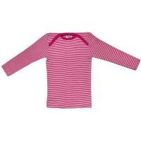 Vorschau: Cosilana Shirt rosa geringelt Wolle