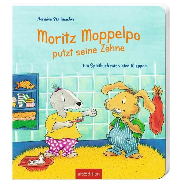 Moritz Moppelpo putzt seine Zähne