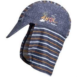 Schirmmütze mit Nackenschutz - AHOI