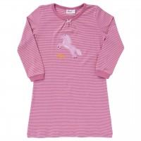 Nachthemd beere/rose geringelt