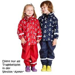 Regenbekleidung Set aus Hose und Jacke - robust und  leicht!<br />\n<br />\nEine sehr <b>leichte</b>