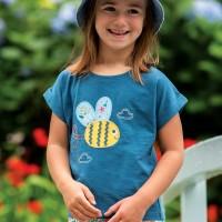 Leichtes Mädchen T-Shirt Biene