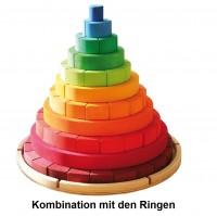 Vorschau: Konischer Turm Ergänzungskasten 71 Bauklötze