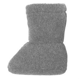 Super warme Babyschuhe als Socke schiefer