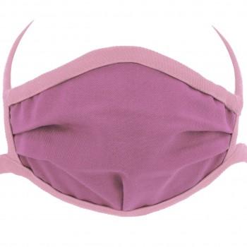 Wiederverwendbare Maske elastische Bänder– Mundbedeckung rosa