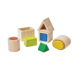 Formen Sortieren Spielzeug aus Holz ab 1 Jahr