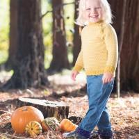 Bequeme Babyhose in Jeansoptik gefüttert