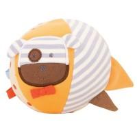 Bio Babyspielzeug Ball von apple park - süsser Hund
