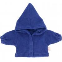 Puppenkleidung: blaue Puppenjacke