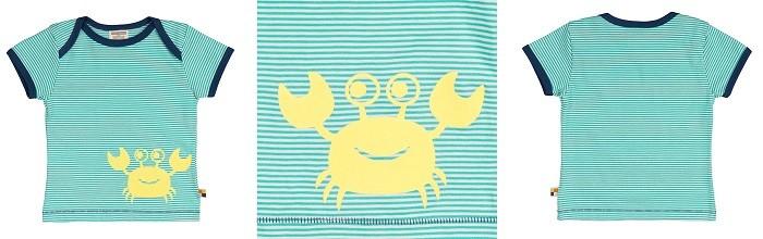 loud-proud-bio-tshirt-krebse-krabben-gruen