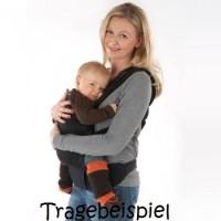 Vorschau: Arm- & Beinstulpen auch für Babytragen grün blau