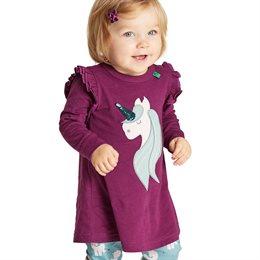Einhorn Jersey Kleid