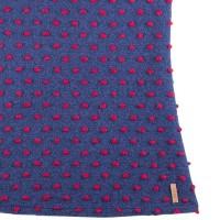 Vorschau: Mädchenkleid aus hochwertiger Merinowolle Indigo lila