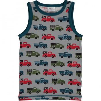 Tanktop Truck in grau