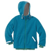 Walk Kinderjacke Outdoor gefüttert blau