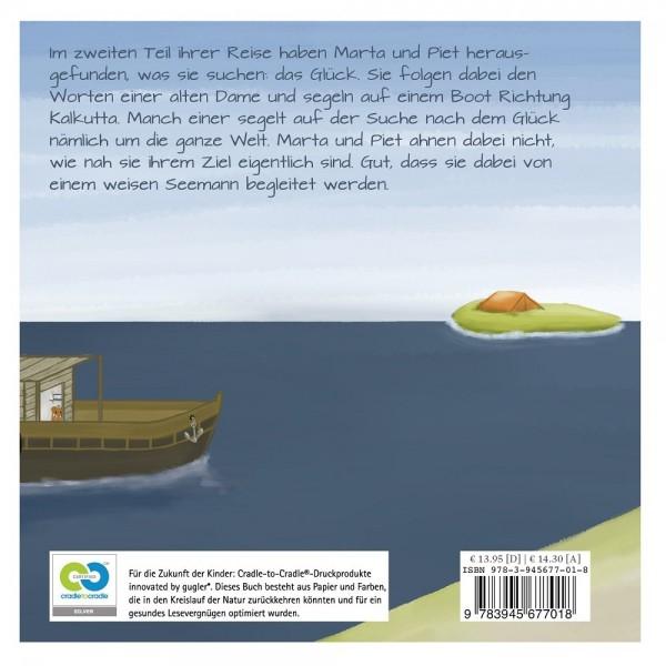Reise nach Kalkutta Teil 2 pflanzlich gefärbtes Buch ab 2,5