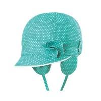 Elegantes Sommer-Capi mit Ohrenschutz